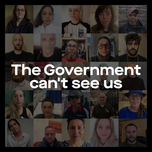 We make events but the Government can't see us. 93% of people who work in live events have lost income due to Covid-19. Please help to support the campaign >> https://gcsu.wemakeevents.com/⁠ ⁠ #GovCantSeeUs #WeMakeEvents