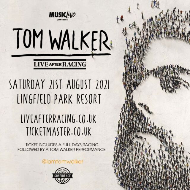 @iamtomwalker Live After Racing at @lingfieldpark has been rescheduled to Saturday 21st August.  Original tickets remain valid.  🎟 >> https://bit.ly/35rq1Sn