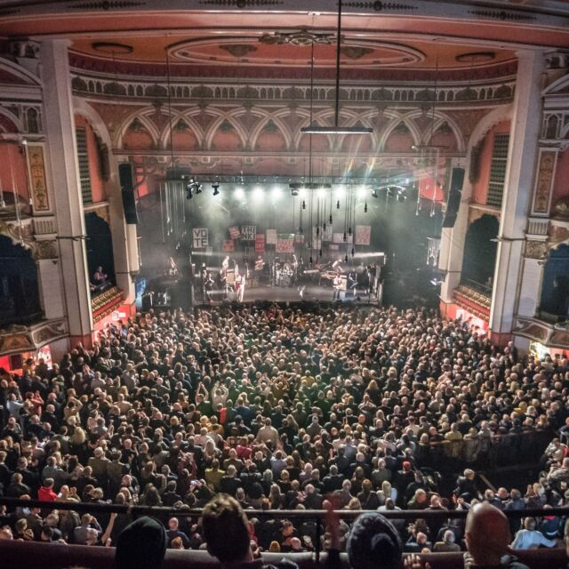 Wishing the @eventimolympia a very special 116th birthday! 🎂  We can't wait for many more amazing gigs in this venue 🤩  📸 @kevbarrett  #LiverpoolOlympia #HappyBirthday